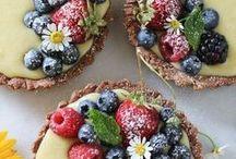 RECIPES / sweet and salad recipes mmm...