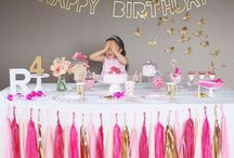 Birthday for Girls / ARCH DAYSに掲載している女の子のバースデー実例写真集