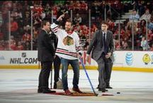 Hawkspotting / Celebrities and the Blackhawks in pop culture.