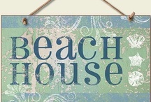 ⚓ Beach Cottage (Beach House) / Furnishings and ideas about decorating a cottage on the beach. / by jrachelle