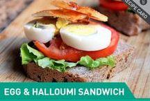 Sandwich/panini/sub  / by Amelia Guerra