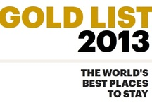 Gold List 2013 / When it comes to those crucial choices in travel, there is only one thing that literally sets the gold standard. The Condé Nast Traveler's prestigious Gold List is truly a global representation of real quality. Congratulations to all of our hotels and resorts who have achieved this high honor and distinction.