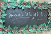 Christmas:  Bulletin Boards & Classroom Decor