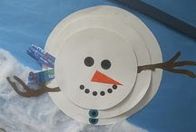 Winter:  Snow & Ice (Crafts, Classroom Activities & Storytime) / Snowflakes, Snowmen, etc.
