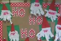 Christmas: North Pole (Crafts & Other Classroom Activities) / Santa & his elves, Rudolph & friends, Frosty the Snowman, Polar Express, etc.