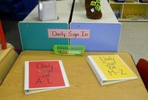 Classroom Management:  Daily Routines & Class Schedule  / Daily Attendance, Daily Calendar & Circle Time Activities, etc.