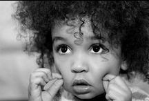 Children / Black and white pictures and portraits of children.