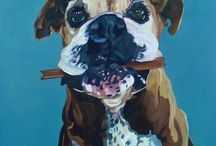 Stuff for Cool Dogs and Their Skin Families / Great stuff for dogs, great art for the dog's people