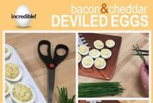 Game Day Eats / Game Day Egg Recipe Headquarters / by Incredible Egg