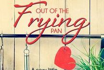 OUT OF THE FRYING PAN / Murder in Paradise whips life into a froth for FERN and ZULA HOPKINS. When the retirement center's chef is found dead, the two ladies get mixed in with the case. Their zany attempts to track down the killer land them in hot water with Detective JARED FLYNN. Should he be concerned about their safety—or the criminal's?  But there are deadly ingredients none of them expect. Drugs. Extortion. International cartels. And worst of all…broken hearts.