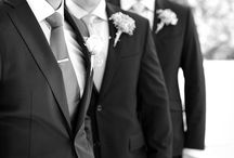 [ WEDDINGS | THE MEN ] / Weddings to me are so wondrous because they are so filled with tomorrow's ~ Mary Forsell.  Everything to do with the groom, groomsmen and ring boy(s).