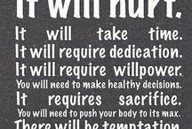 Healthy living, diet & motivation