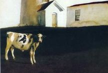 Cow Art / The art of cows by various artists.