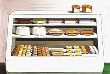 Me oh My Cake & Pie Paintings / Art of baking