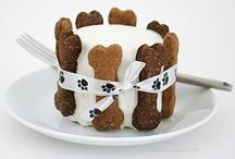 """Doggie Pies, Cakes & Cookies / Recipes for """"dog pies."""""""