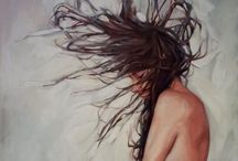 Figure Art Inspiration / Oil figure painting and drawing