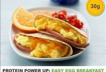 #Protein Power Up / Did you know eggs have 6 grams of high-quality protein? / by Incredible Egg
