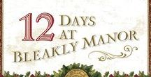 12 DAYS AT BLEAKLY MANOR / Imprisoned unjustly, BENJAMIN LANE wants nothing more than freedom and a second chance to claim the woman he loves—but how can CLARA CHAPMAN possibly believe in the man who stole her family's fortune and abandoned her at the altar? Brought together under mysterious circumstances for the Twelve Days of Christmas, each discovers that what they've been striving for isn't what ultimately matters . . . and what matters most is love.