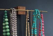 jewelry display  / Ways to store, display and take care of jewelry.