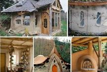 Off the grid dream home / Ideas for a home I am creating ~ green building tequniques ~ alternative energy ~ off the grid / self sufficiency ~ pictures of stuff I like.