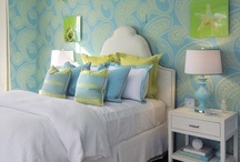 Blue & Green Home Decor / Lewis and Sheron will help you fin the perfect blue and green fabric for your design and decorating needs.  Please visit www.lsfabrics.com for more blue and green fabrics.