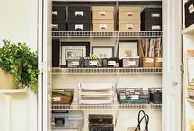 Storage space / by Gwen xoxo