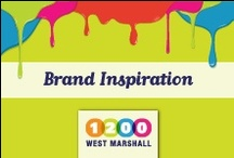 Branding & Design Inspiration / by 1200 West Marshall