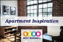Apartment Inspiration @ 1200 West Marshall / 1200 West Marshall is a brand new student apartment community in Richmond, Virginia. #VCU, #GORAMS / by 1200 West Marshall