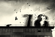 18 / Eighteen is a project, a combination of text and illustrations. The story is about life in a city that changes, as seen through the eyes of a bird. The illustrations describe the cold industrial landscape and nostalgia using computer hardware and black and white images.