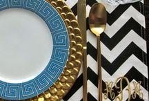 Chevron decor & Fabric / Decorating With Chevron - Ideas inspiration and fabrics.