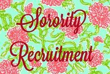Greek Chic / Good as Gold information that you need to know for Sorority Rush / by Lorie Rowland