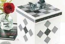 Caixas / Ideias para decorar caixas com artesanato / by Portal de Artesanato