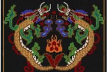 Beading patterns little tapestries of life! / Beading patterns and tutorials / by Naxos Madden