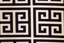 Greek key / Greek key home decor. Get ideas and be inspired by our selection of fabric and trim. visit our website at www.lsfabrics.com