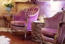 Purple Love / Purple home decor
