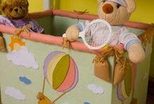 Artesanato para crianças / Tudo feito com artesanato, a decoração do quarto, brinquedos e muito mais. Todas as peças com passo a passo.