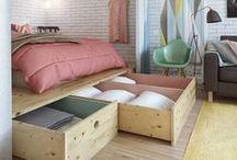 Small spaces / Small spaces interior; design; ideas