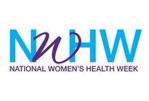 National Women's Health Week / National Women's Health Week is an observance led by the U.S. Department of Health and Human Services Office on Women's Health. The goal is to empower women to make their health a priority. National Women's Health Week also serves as a time to help women understand what it means to be well.