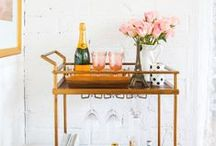 bar cart / by Kaitlyn Hammond