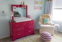 Baby Girl Nursery / Decor, Design, Fabrics and Girls.