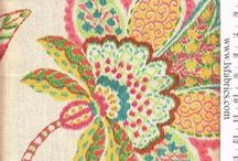 Decor with Flowers / Add your personal touch and bring the beautiful look of flowers into your space with our great selection of floral fabrics. visit our website  www.lsfabrics.com