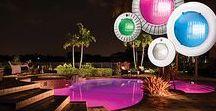 Color Changing LED Pool Lights / Color Changing LED Pool Lights - Floating LED, Wall Return, and inground Pool Color LED lights.