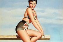 Art&Design | Vintage Illustration / Pretty, lovely Pin Ups & vintage illustrations / by Amagoia Santin