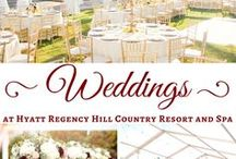 Weddings in the Texas Hill Country | San Antonio Wedding Venue / Celebrate your San Antonio wedding at Hyatt Regency Hill Country Resort and Spa. Surrounded by the beauty of the Texas Hill Country, our hotel features gorgeous indoor and outdoor wedding venues paired with Texas charm and hospitality. Call (210) 520-4014 or e-mail us at hillcountryweddings@hyatt.com to plan your dream wedding today!
