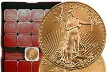 Gold Bullion Coins & Gold Bars / #Gold #coins gold #bars gold everything, whether it's #bullion #numismatic, if it's draped or inspired by gold and it's beautiful   we want to share the #wealth with you. / by Ausecure