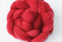 Fibre and Fiber Treats / For spinners and felters thse fibres are a fiber delight.  Knit with he fnished yarn, felt with the fibres!