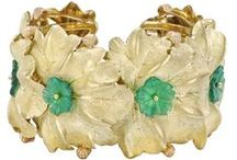 """Buccellati / Italian Goldsmith Mario Buccellati (1891-1965) carried on a family tradition dating back from the early 18th Century. He was the first among Italian Goldsmiths to open a shop on Fifth Ave in New York & later in Palm Beach. As his popularity gained, his clientele came to include the Vatican & the Royal Courts of Europe, leading to his nickname, """"The Prince of Goldsmiths."""" View the family's impressive work exclusively at Shreve, Crump & Low. http://ch.shrevecrumpandlow.com/buccellati_jewelry.html / by Shreve, Crump & Low"""