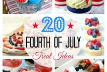 Color Me RED WHITE & BLUE! / All things for the love of the Red, White, and Blue