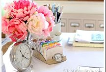 Home Office Inspiration / My dream home office ideas and inspiration / by Trista Finch