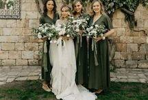 Green Wedding Inspiration / green wedding inspiration, green wedding decor, green wedding flowers, green wedding ideas